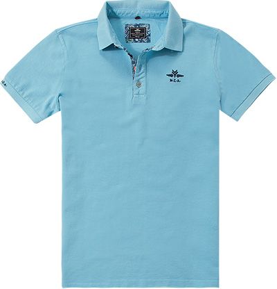 N.Z.A. Polo-Shirt 16DN102S/summer blue