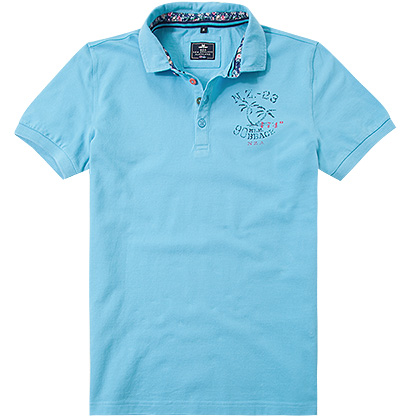 N.Z.A. Polo-Shirt 16DN105B/summer blue
