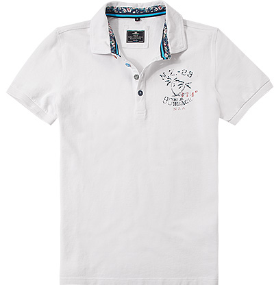 N.Z.A. Polo-Shirt 16DN105B/summer white
