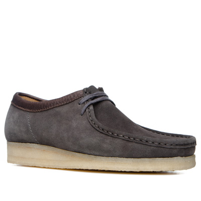 Clarks Wallabee charcoal suede 26119936G