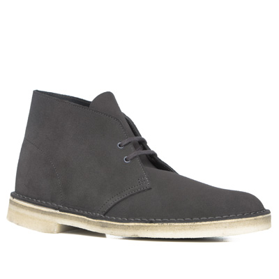 Clarks Desert Boot charcoal suede 26118564G