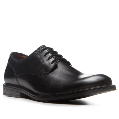 Clarks Beckfield Walk black leather 26119263G