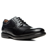 Clarks Hopton Walk black leather