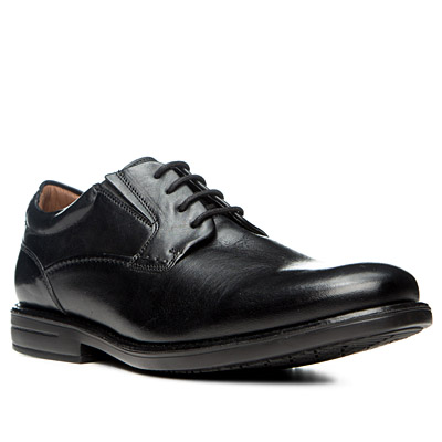 Clarks Hopton Walk black leather 26119293H
