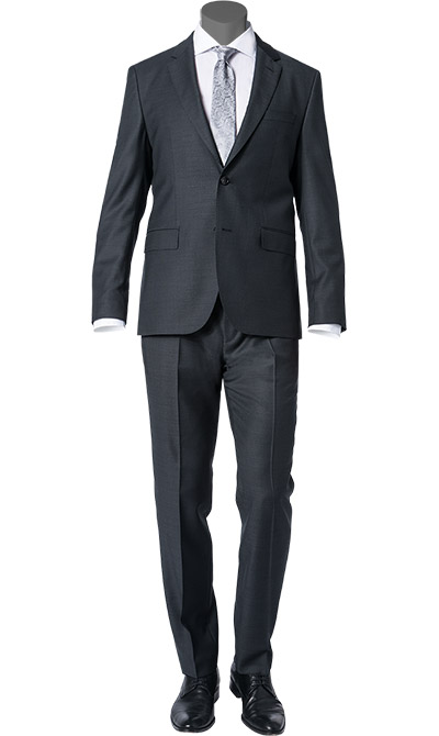hugo boss anzug johnstons lenon in grau. Black Bedroom Furniture Sets. Home Design Ideas