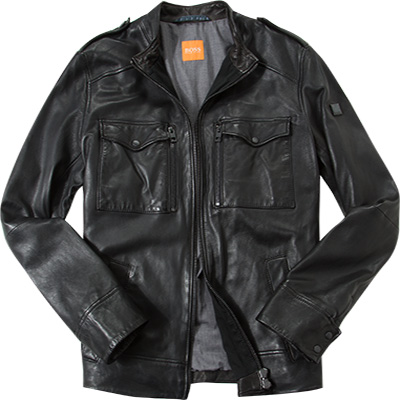 BOSS Orange Lederjacke Jespar 50315452/001
