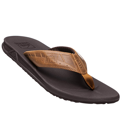 REEF Zehensandale brown-tan R2025/BTN