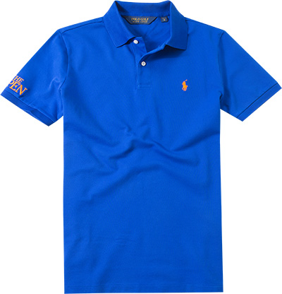 ralph lauren golf polo shirt in blau. Black Bedroom Furniture Sets. Home Design Ideas