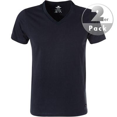 N.Z.A. V-Shirt 2er Pack