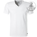 N.Z.A. V-Shirt 2er Pack 99XN962C/white