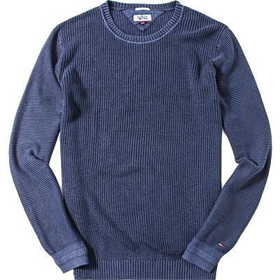 hilfiger denim pullover in blau. Black Bedroom Furniture Sets. Home Design Ideas
