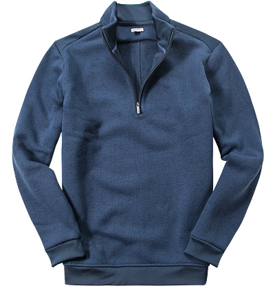 ASHWORTH Heather Sweater navy BC1198