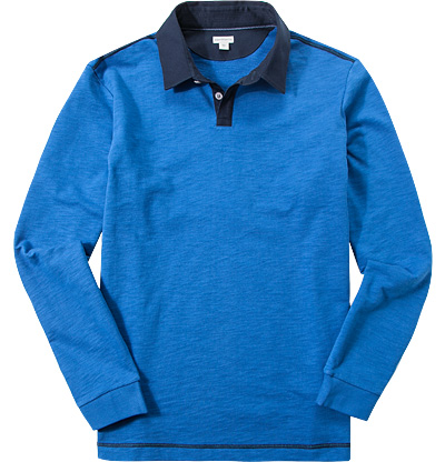 ASHWORTH French Rugby Shirt coastal blue AE9695
