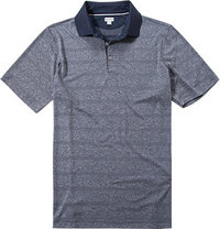 ASHWORTH Plaited Golf Shirt navy