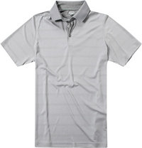 ASHWORTH Plaited Golf Shirt medium grey