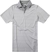 ASHWORTH Plaited Golf Shirt medium grey