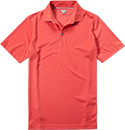 ASHWORTH EZ-SOF Solid Golf Shirt sea coral AE7669