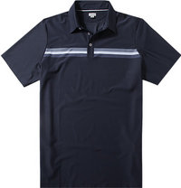 ASHWORTH Engineer Stretch Golf Shirt navy