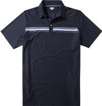 ASHWORTH Engineer Stretch Golf Shirt navy