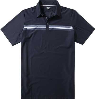 ASHWORTH Engineer Stretch Golf Shirt navy AE5518