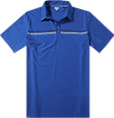 ASHWORTH Engineer Stretch Golf Shirt blue AE9523