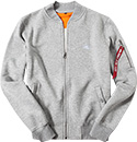 ALPHA INDUSTRIES Sweatjacke 168336/17