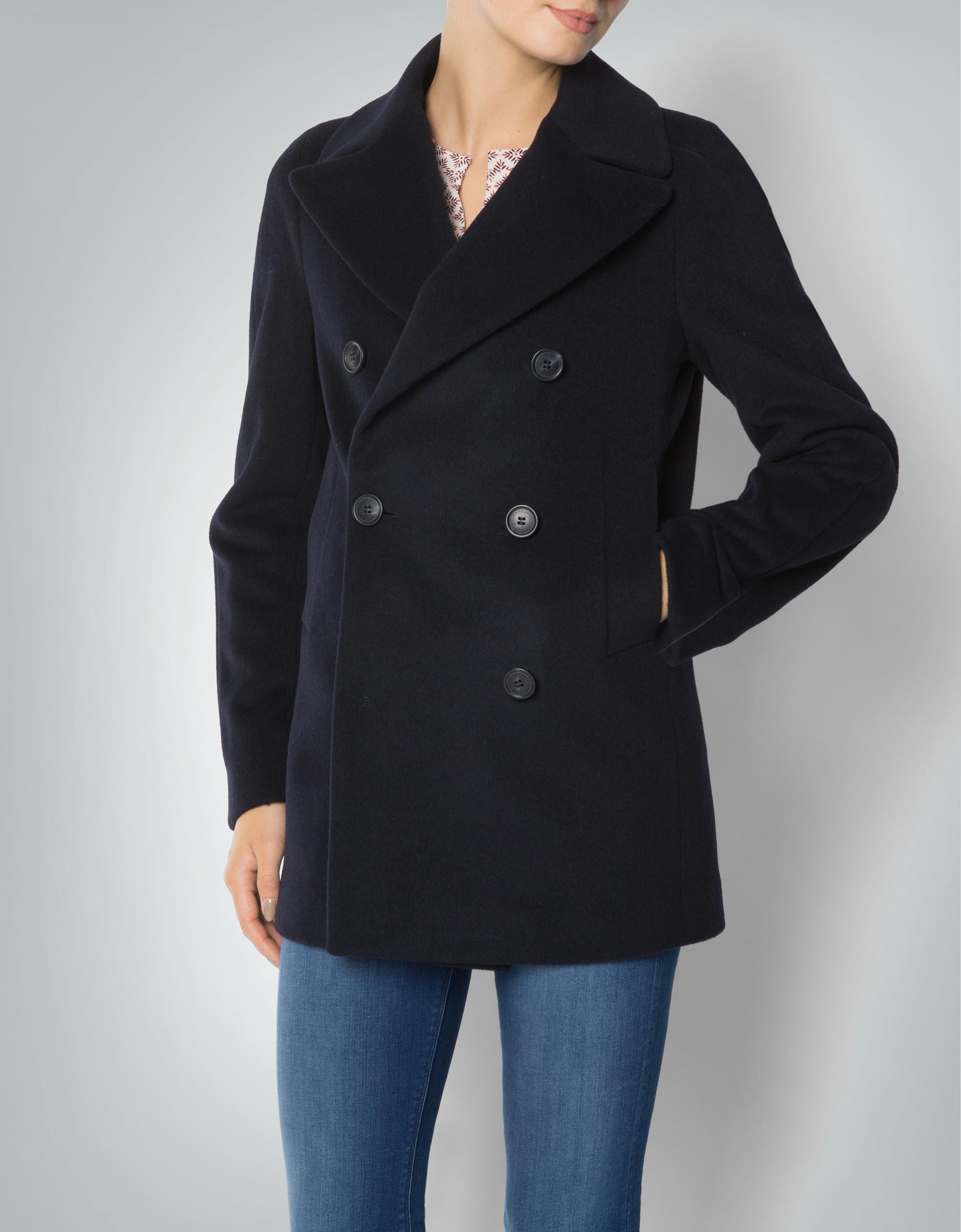 reputable site 4af7f c37b2 Gant Damen Mantel Kurz aus Wolle empfohlen von Deinen Schwestern