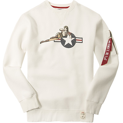 ALPHA INDUSTRIES Sweatshirt 168308/16
