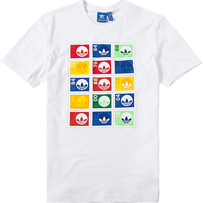 adidas ORIGINALS T-Shirt white AZ1027
