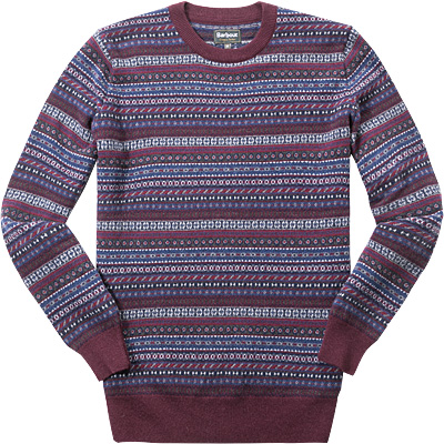 Barbour Easton Fairisle Crew MKN0868RE94
