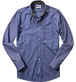 Barbour Hemd Oxford navy