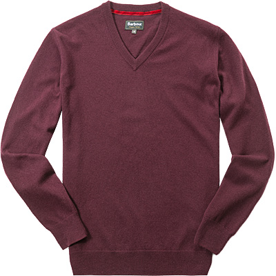 Barbour V-Pullover merlot MKN0767RE94