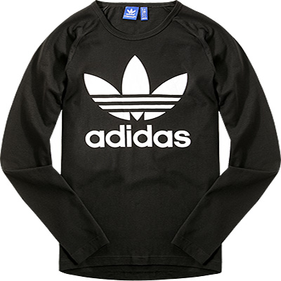 adidas ORIGINALS Sweatshirt black AY7801