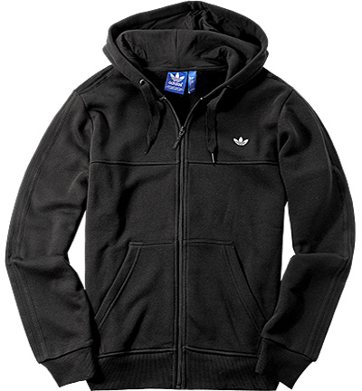adidas ORIGINALS Sweatjacke black AZ1123