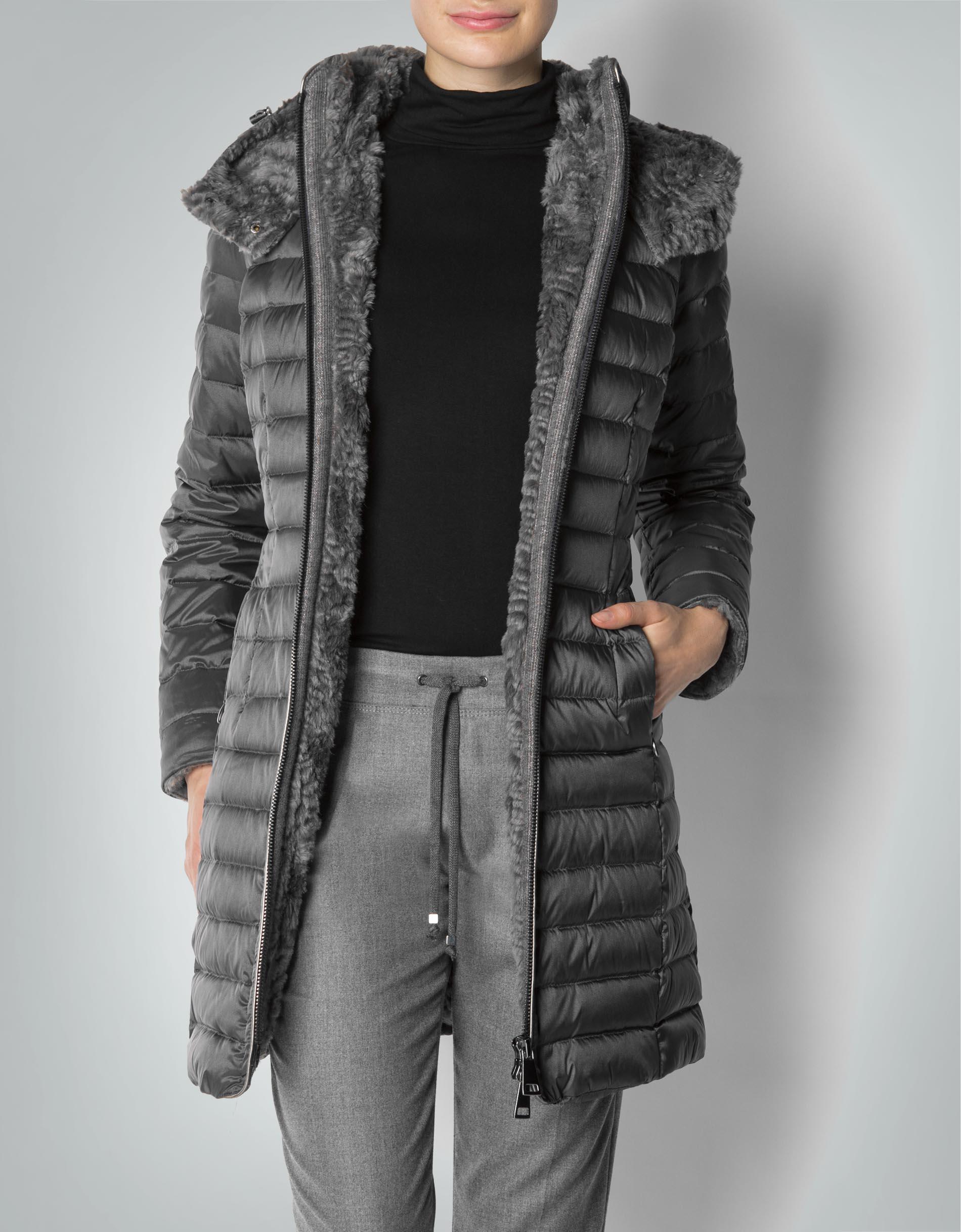 riesiges Inventar großer Abverkauf bester Großhändler MILESTONE Damen Mantel Moira mit abnehmbarer Kapuze ...