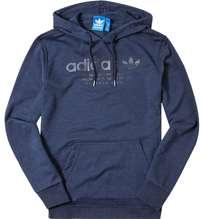 adidas ORIGINALS Hoodie legend ink AZ1218