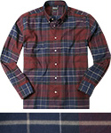 Barbour Hemd Lustleigh merlot MSH3749RE14