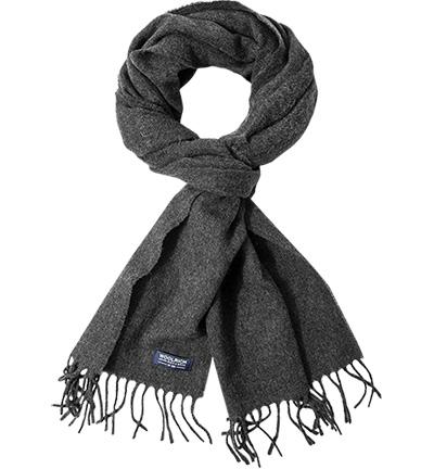 WOOLRICH Schal WOACC: WOOLRICH Schal WOACC Herren in grau aus Wolle