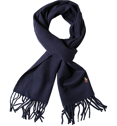 Polo Ralph Lauren Schal A-AWAHUN: Polo Ralph Lauren Schal A-AWAHUN Herren in blau aus Wolle
