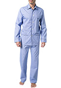 DEREK ROSE Piped Pyjama Set 5005/FELS003BLU