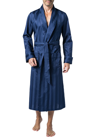 DEREK ROSE Dressing Gown 5500/LING001NAV