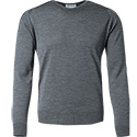 John Smedley RH-Pullover Cleves/charcoal