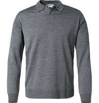 John Smedley Pullover Cotswold/charcoal