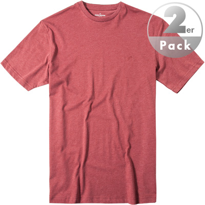 daniel hechter t shirt 2er pack in rot. Black Bedroom Furniture Sets. Home Design Ideas