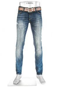 Alberto Slim Fit Vintage Denim