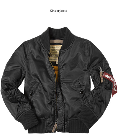 ALPHA INDUSTRIES Kinderjacke MA-1 VF59 168701/03