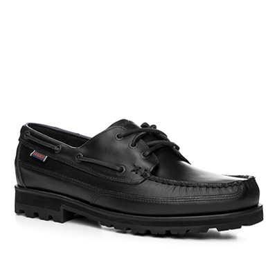 SEBAGO Vershire three eye black leather B710063