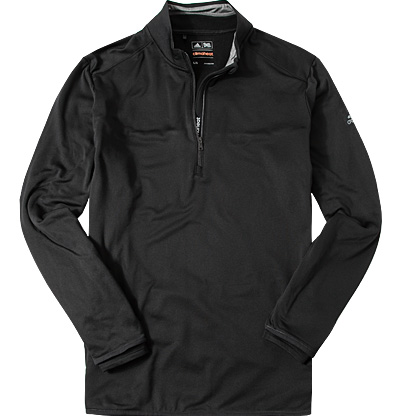 adidas Golf Zip-Shirt black AF2717