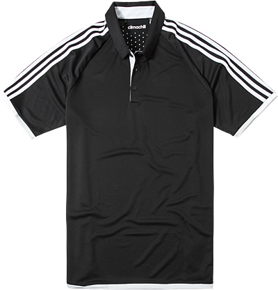 adidas Golf Polo-Shirt black-white AE4077