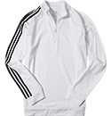 adidas Golf Zip-Shirt white-black AE4892